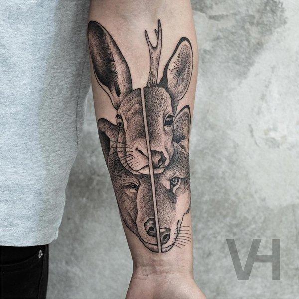 Symmetrical Tattoos (35 pics)