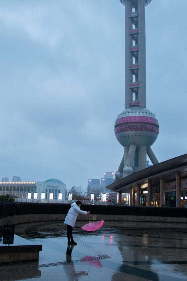 Shanghai During Coronavirus Outbreak (32 pics)