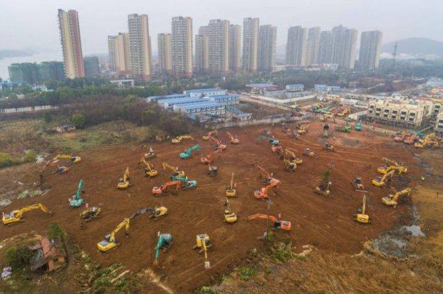 China Built A Coronavirus Hospital In Ten Days (26 pics)