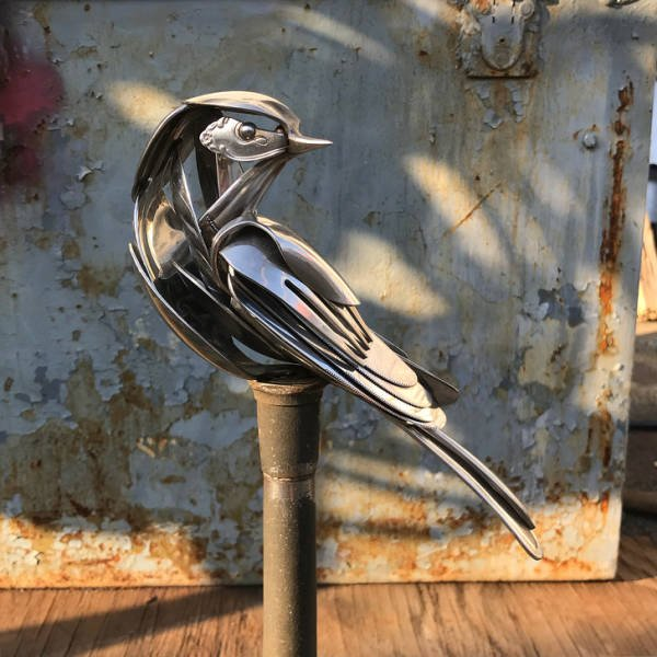 Recycled Silverware Art By Matt Wilson (15 pics)
