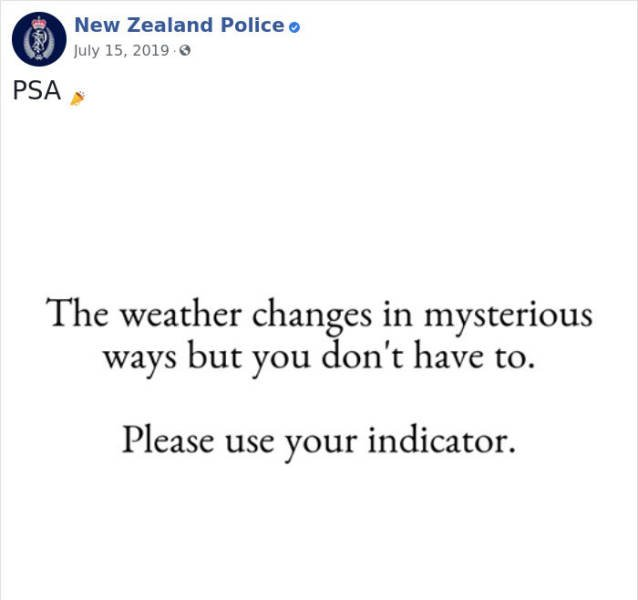 New Zealand Police Knows How To Facebook (30 pics)