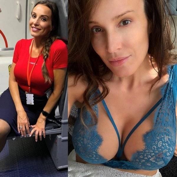 Hot Flight Attendants (35 pics)