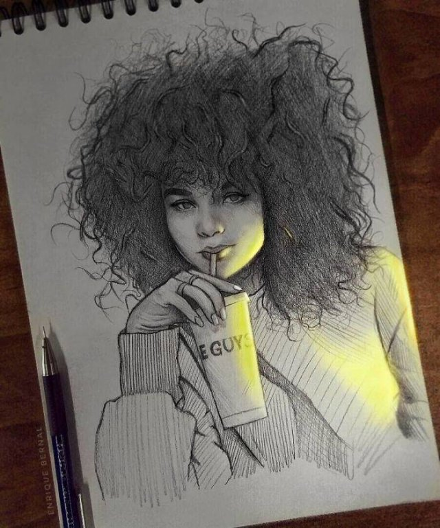 Glowing Art By Enrique Bernal (25 pics)