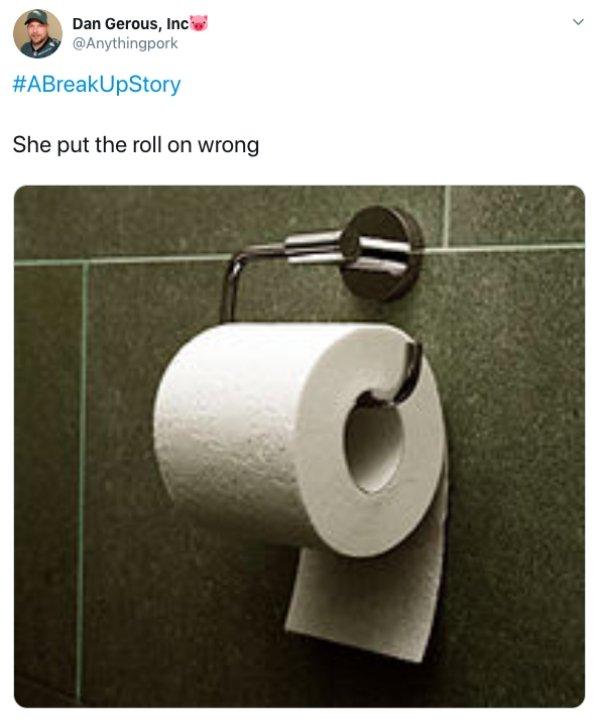 #ABreakUpStory Tweets (14 pics)