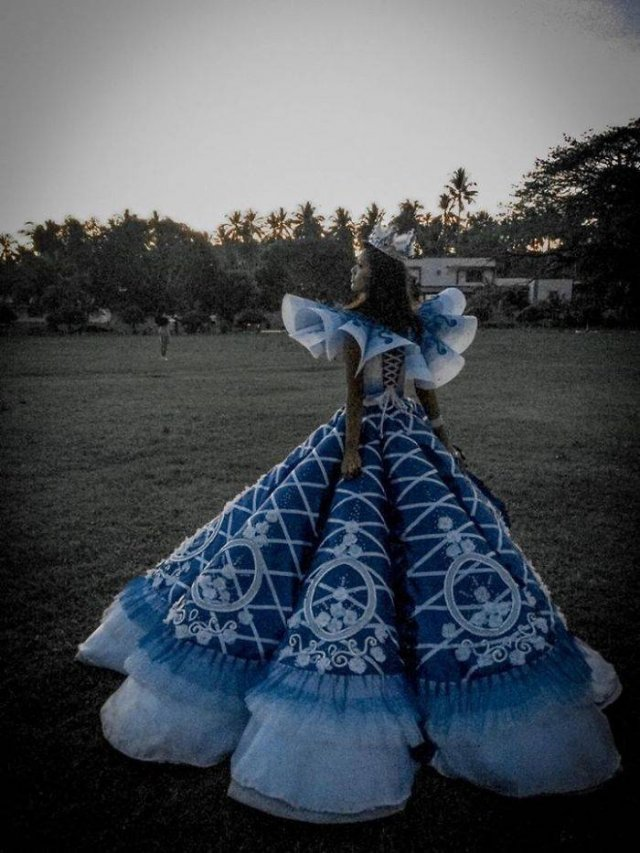 Brother Made A Prom Dress For His Sister (17 pics)