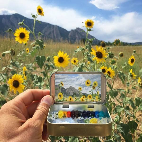 Mini Plein Air Paintings By Remington Robinson (30 pics)