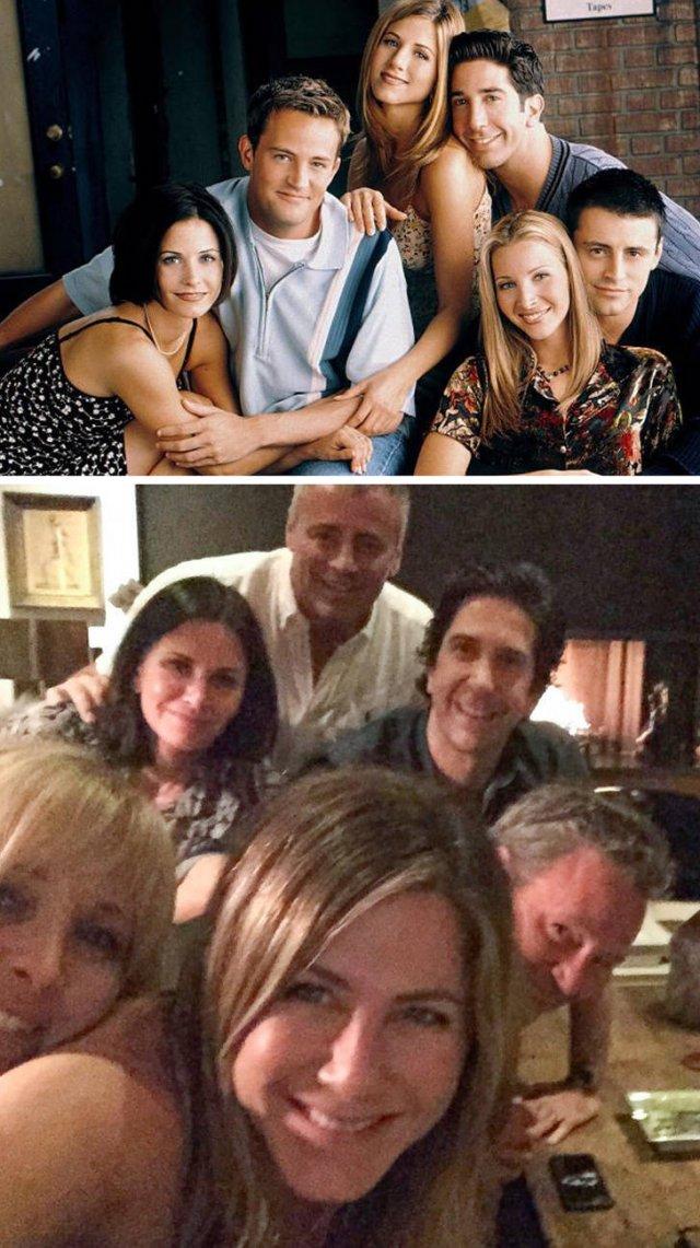 Celebrity Reunions (13 pics)