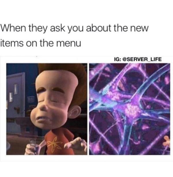 Service Industry Memes (30 pics)