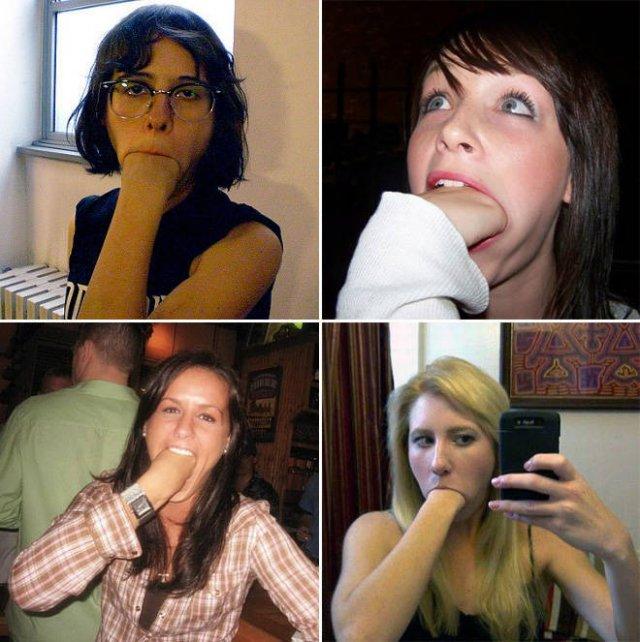 Fist Eating (21 pics)