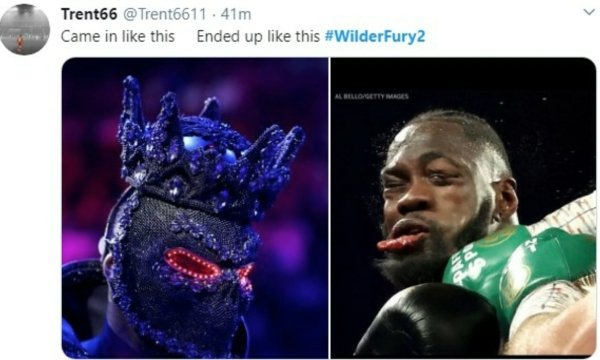 #WilderFury2 Memes (26 pics)