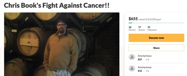 Man Battling Cancer Haven't Expected To Get Such Support (21 pics)