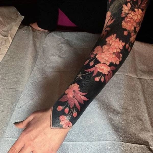 Blackout Tattoos By Esther Garcia (25 pics)