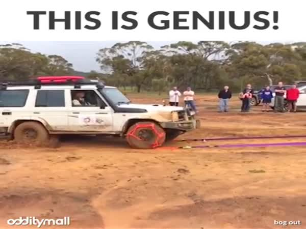 Brilliant Device Gets You Unstuck From Anything