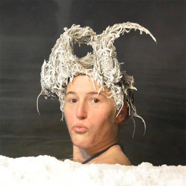 Hair Freezing Contest (21 pics)