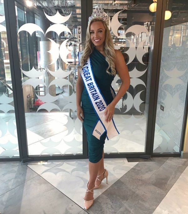 Miss Great Britain 2020: Woman Lost Over 100 Pounds (45 kg) (14 pics)