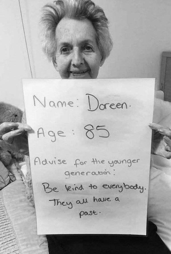 Old People Share Advices For Younger Generations (26 pics)
