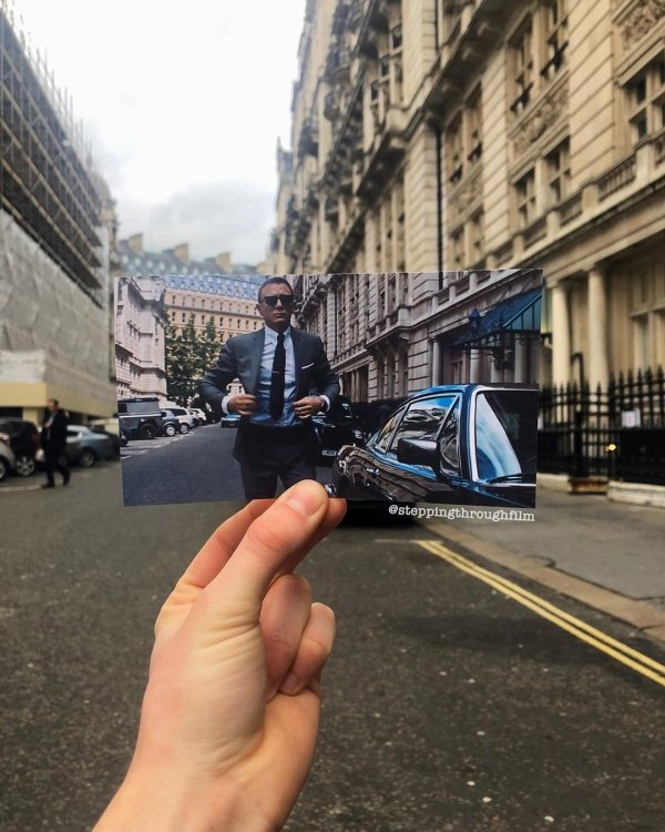 Iconic Film Locations In Real Life By Thomas Duke (35 pics)