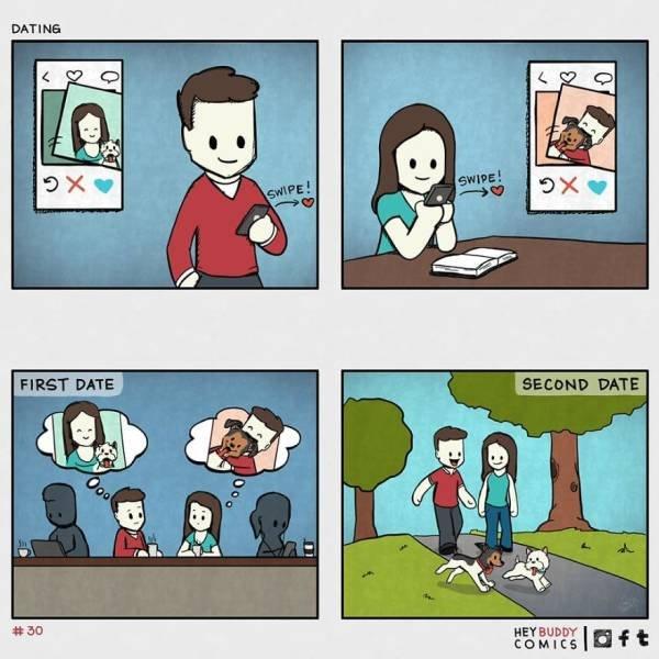 Hey Buddy Comics By K. Magnet Rocket (13 pics)