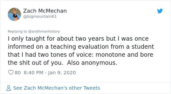 Teachers Share Insane Course Evaluations (17 pics)