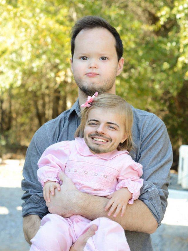 Creepy Baby Faceswaps (21 pics)