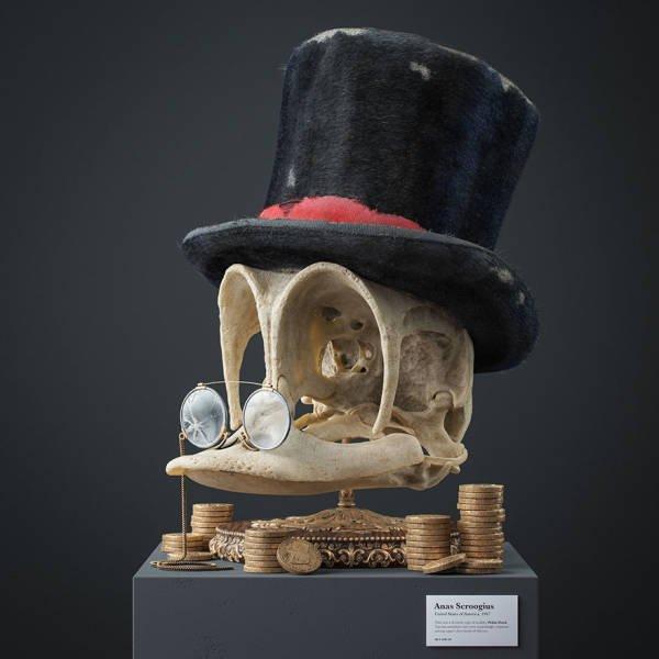 Fossil Skulls Of Popular Cartoon Characters By Filip Hodas (12 pics)