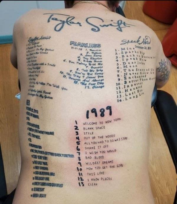 Awful Tattoos (23 pics)