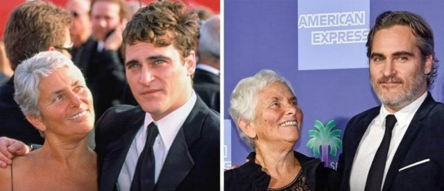 Celebrities With Their Parents (21 pics)