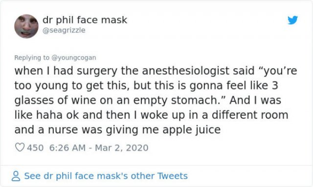 People Share Their Anesthesia Experience (61 pics)