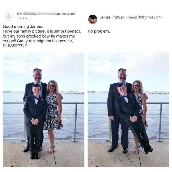 James Fridman Can Fix Any Photo (29 pics)