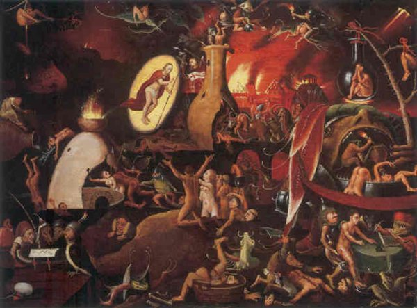 Old Depictions Of Hell (15 pics)
