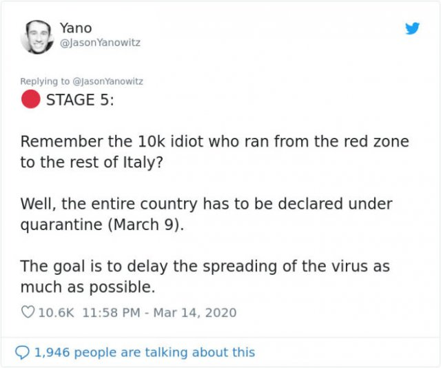 Man Describes Stages Of Coronavirus Outbreak In Italy (41 pics)