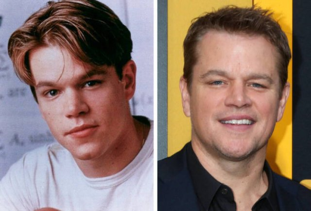 Famous Men Then And Now (15 pics)
