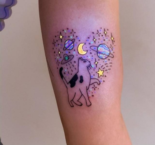 Glowing Tattoos By Tukoi Oya (20 pics)