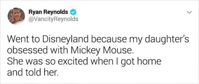 Ryan Reynolds' Tweets (20 pics)