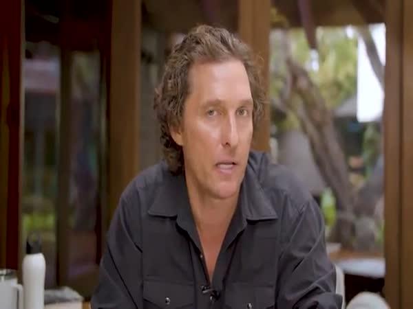 Matthew McConaughey Shares Message Of Hope