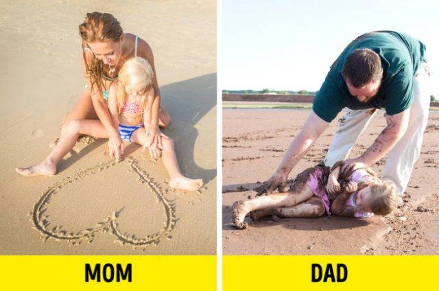 Dads Vs Moms (20 pics)