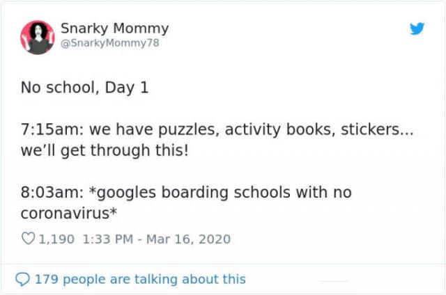 Parents Do Their Best To Homeschool Children During Quarantine (30 pics)