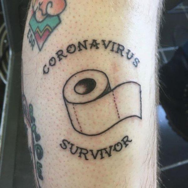 Coronavirus Tattoos (26 pics)