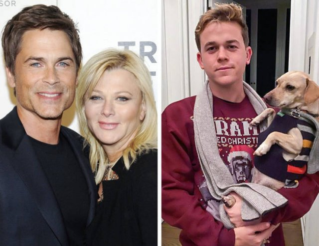 Celebrity Children And Their Parents (18 pics)
