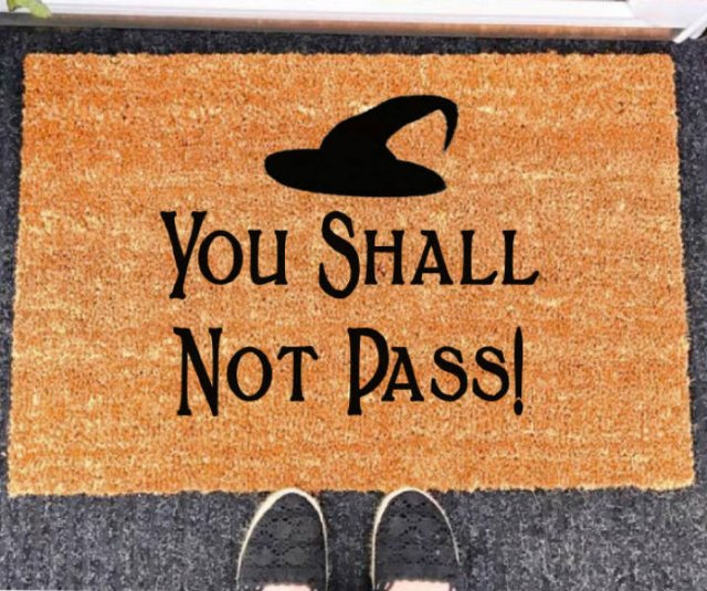Doormats For Effective  Social Distancing (21 pics)