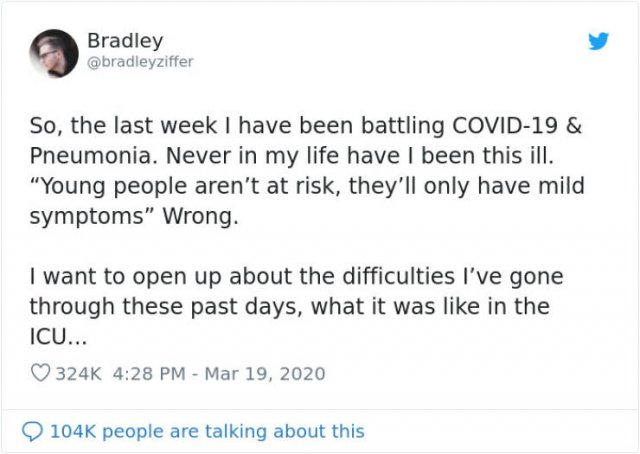Guy Shares His Experience Of Coronavirus (20 pics)