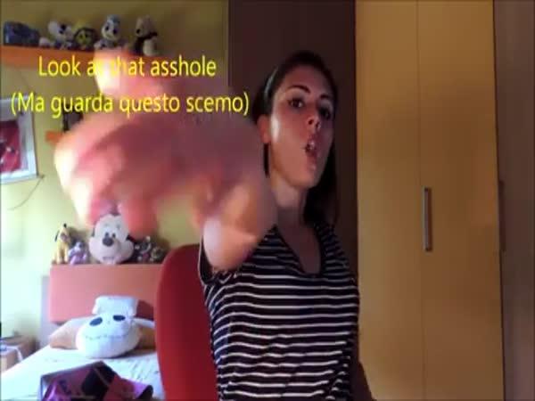 Common Italian Hand Gestures