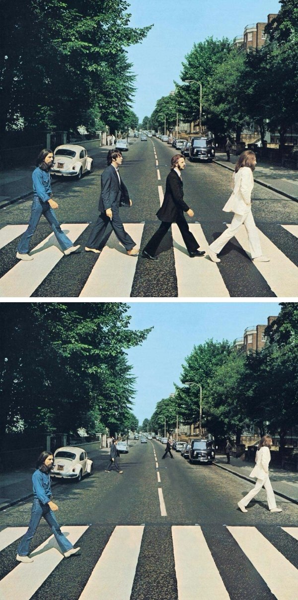 Social Distancing On Famous Album Covers (23 pics)