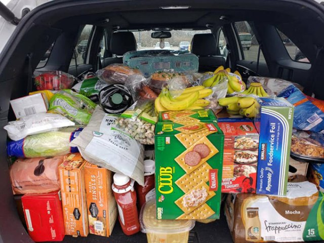 Quarantine Chronicles: Woman Explains Why She's Hoarding So Much Groceries (10 pics)
