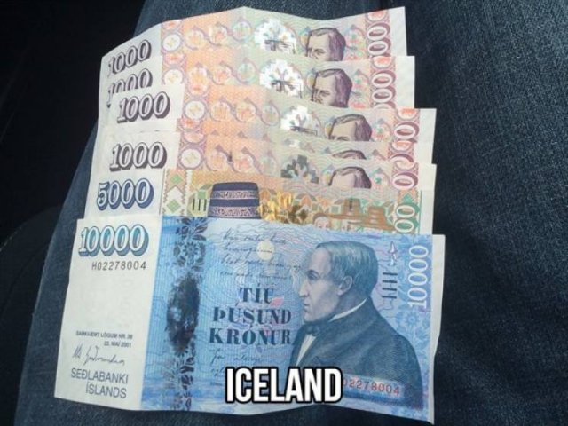 Colorful Currencies From Around The World (20 pics)