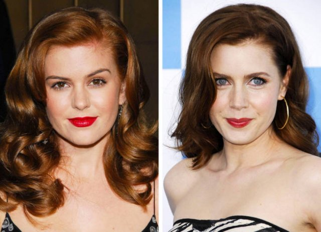 Celebrities Who Look Very Similar (15 pics)