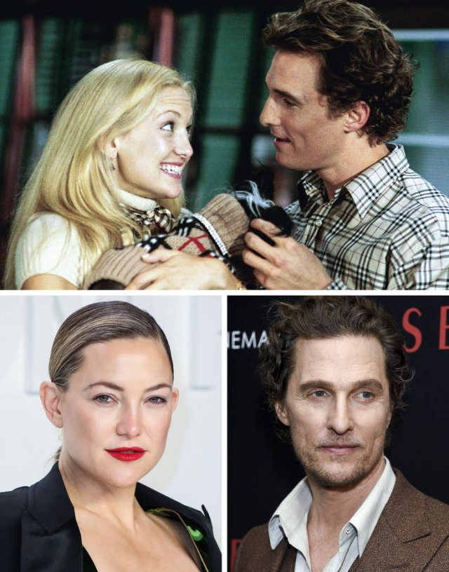 Famous Movie Couples: Then And Now (21 pics)
