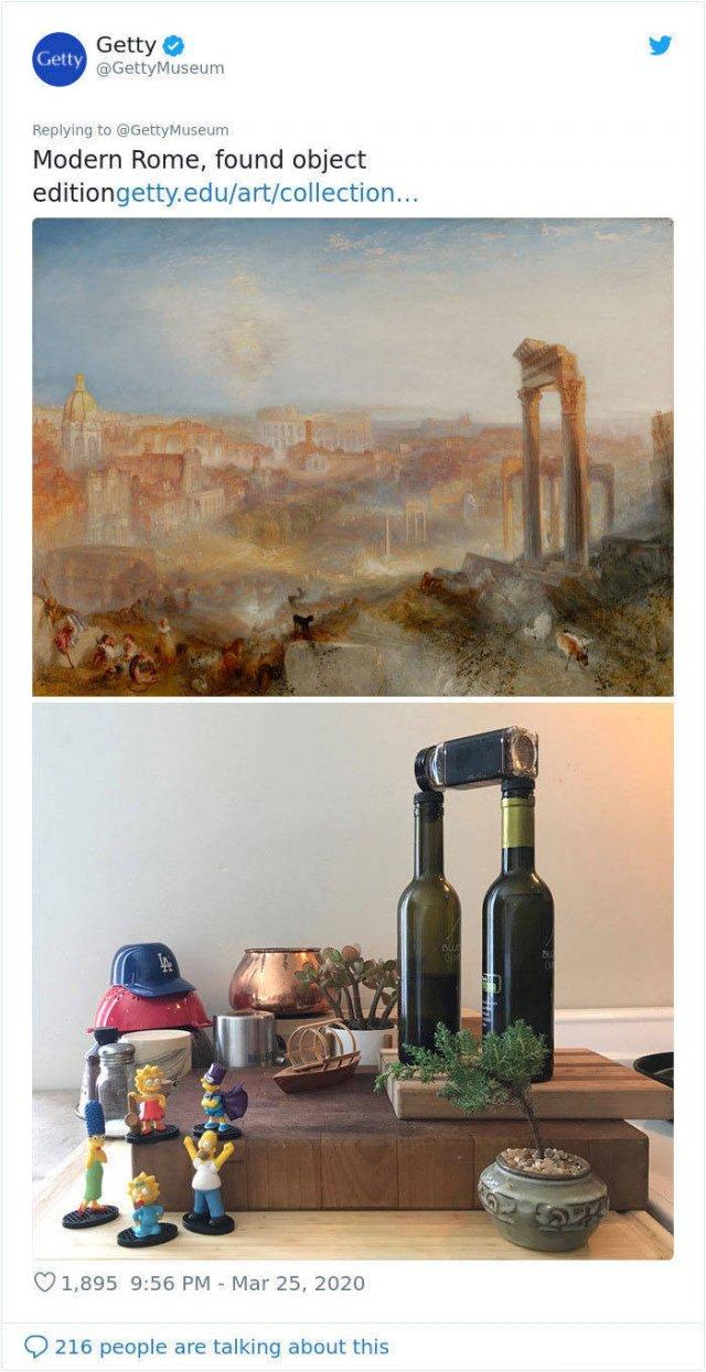 Reproduce Art At Home Challenge (34 pics)