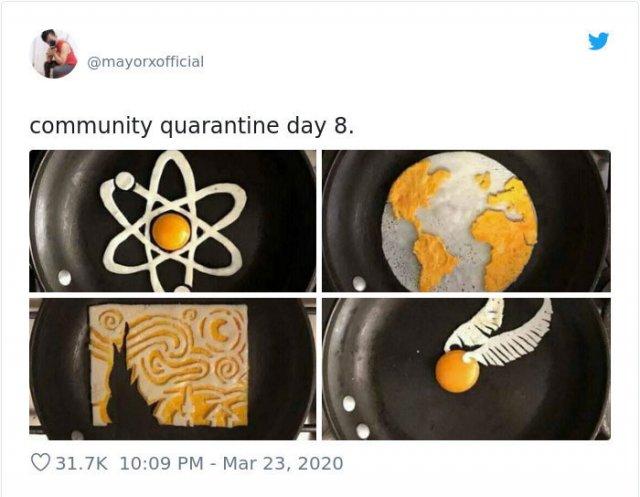 Bored People On Quarantine (34 pics)