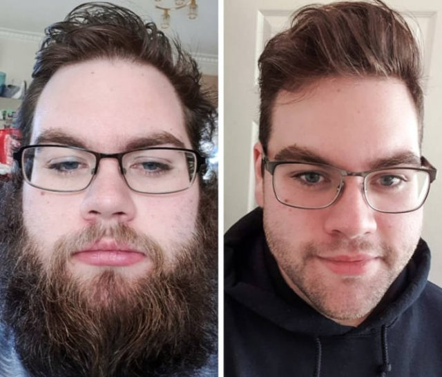 Barbershop: Before And After (23 pics)
